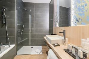 Salle de bain Hôtel herault