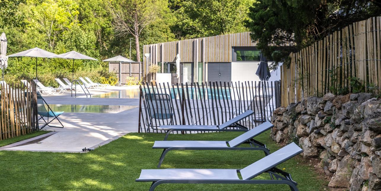 piscine hôtel 4 étoiles Occitanie Hérault